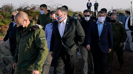 Pompeo seen as auditioning for 2024 on Israel trip while he organizes at home