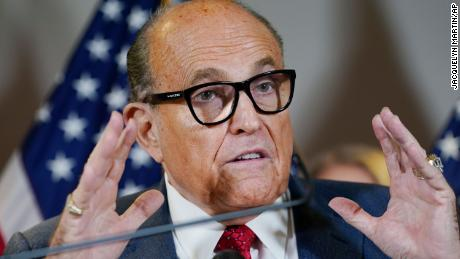 Inside Rudy Giuliani's attempt to sow chaos on behalf of Trump and steal the election