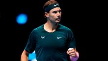 Rafael Nadal advances to last four of the ATP Finals after beating Stefanos Tsitsipas