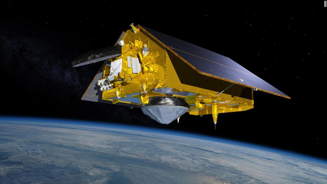 NASA launching new satellite to study sea level rise