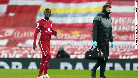 Naby Keita is the latest Liverpool player to pick up an injury this season.