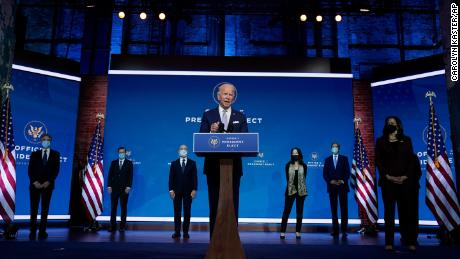 Key lines from the unveiling of Biden's top national security and foreign policy team