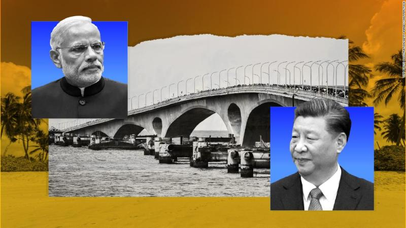 A tale of two bridges: India and China vying for influence in the Maldives