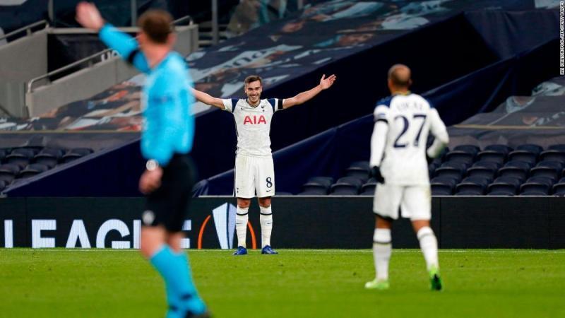 Harry Winks scores wonder goal in Europa League