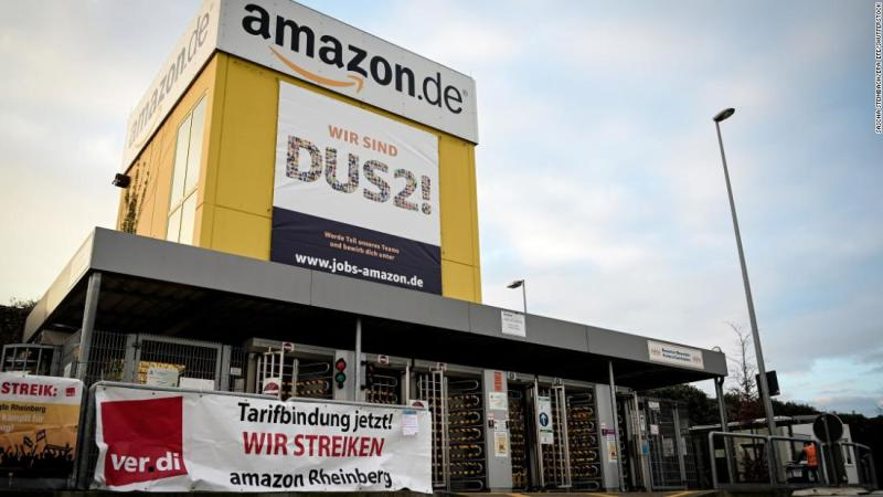 Amazon spends another 0 million on bonuses. Some of its workers are still going on strike