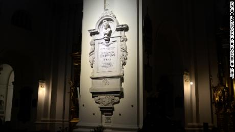 Chopin's heart is buried in the Church of the Holy Cross in Warsaw.