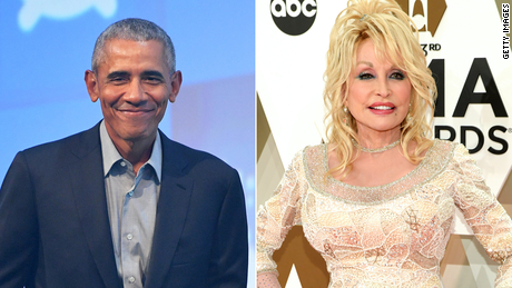 Barack Obama wishes he had awarded Dolly Parton the Presidential Medal of Freedom