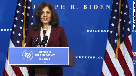 Neera Tanden to keep reaching out to senators next week as confirmation in jeopardy