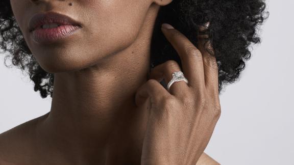 Signature Princes Halo Ring