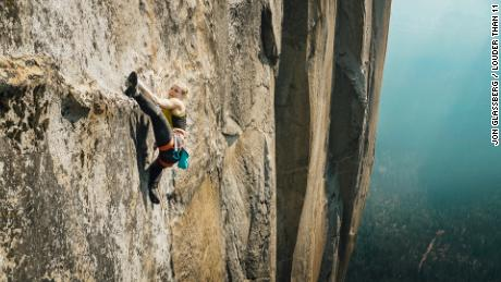 Emily Harrington became the first woman to free climb the Golden Gate route of El Capitan.