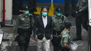 Hong Kong court detains Jimmy Lai and other prominent activists for 8 to 18 months during the 2019 protest