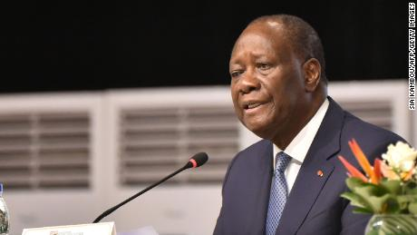 Ivorian President Alassane Ouattara says he doesn't understand why many Ivorian people are upset that he decided to run for a third term.