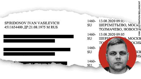 Travel records show that, until 2018, agents in the Russian intelligence unit following opposition leader Alexey Navalny frequently used their own names when following their target. Some, like Ivan Osipov, adopted fake identities or traveled under their wives' maiden names.