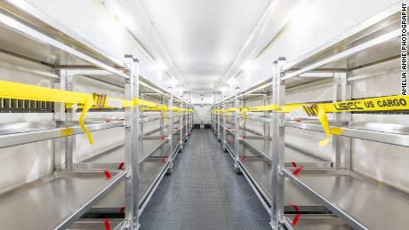 """Acela Truck Co.'s refrigerated units range from 9 to 53 feet and have racks that each hold four body trays. """"We're very busy and have orders in all of the lower 48 states,"""" CEO David Ronsen said."""