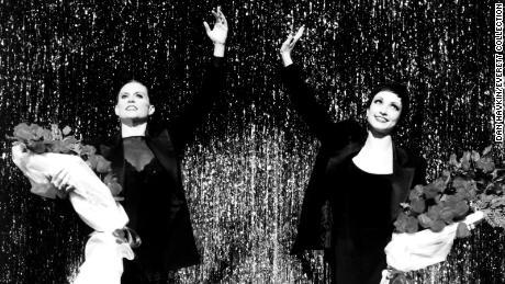 "Ann Reinking, left, performs in ""Chicago"" in 1996"