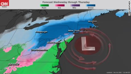 Powerful system may drop more than a foot of snow on NYC, other parts of Northeast 1