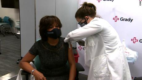 Morehouse dean takes vaccine on TV to remove the stigma as some Black Americans remain hesitant to get the shot