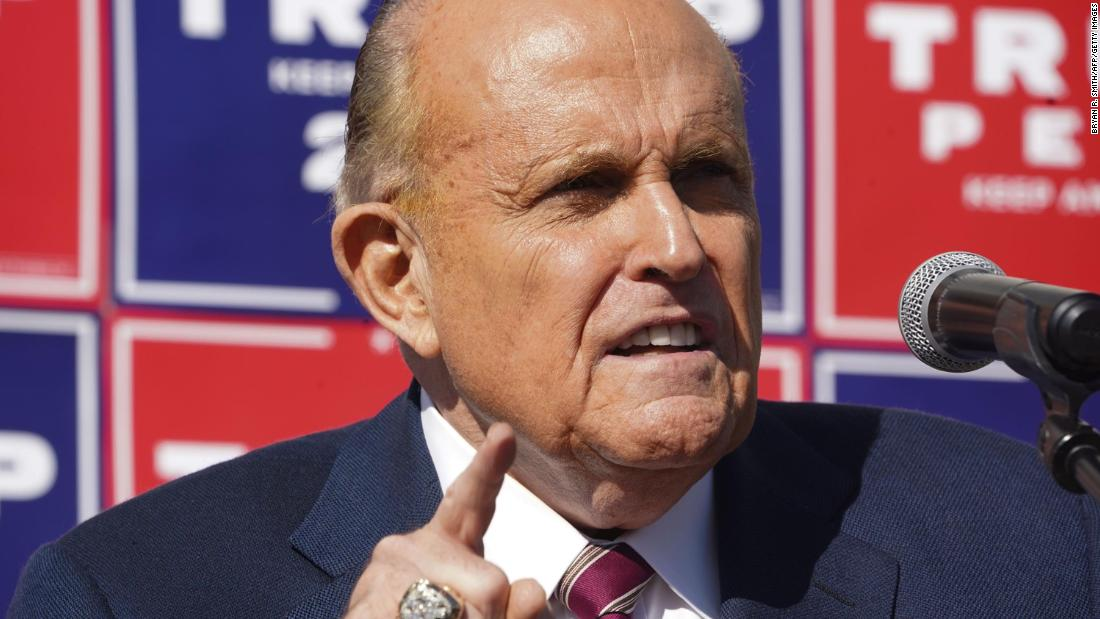 Dominion sues Giuliani for $1.3 billion over 'Big Lie' about election fraud