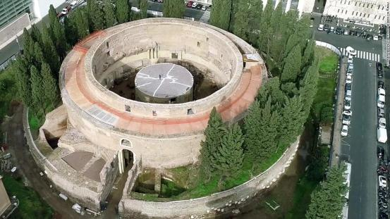 Mausoleo di Augusto, the tomb of Emperor Augustus, to be inaugurated in Rome