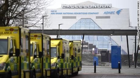 UK emergency Covid-19 field hospitals asked to be 'ready' to admit patients as crisis looms