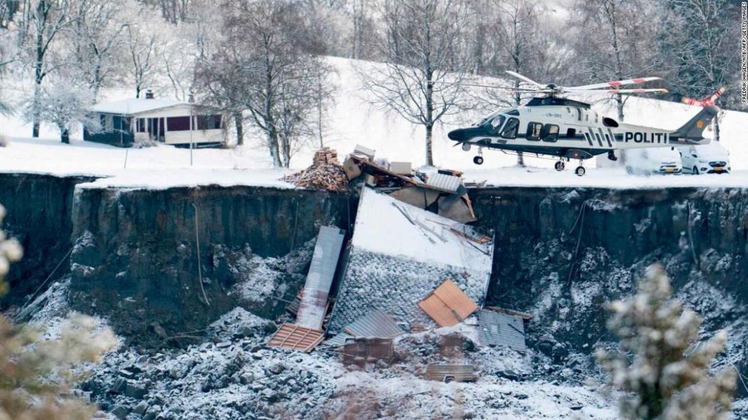 Norway ends rescue effort for survivors six days after landslide