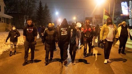 Kenosha provoked the officer over the split between caste and police, and reprimanded the police following the accusations of the officer who shot Jacob Blake;