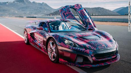 Could a 258mph electric hypercar help Dubai ditch its gas guzzlers?