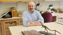 Paleontologist Mark McMenamin is one of the scientists lending his expertise to the project of naming a state dinosaur for Massachusetts.