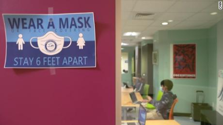 Transmission of coronavirus in schools can be limited if kids mask up, study suggests
