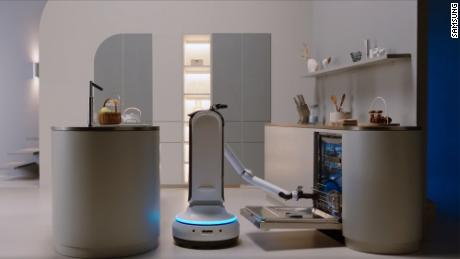 Dishwashing robots and Bluetooth masks: Pandemic products hit tech's biggest show