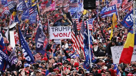 Crowds descended on Washington, DC last week to protest the ratification of President-elect Joe Biden's electoral college victory in the presidential election.