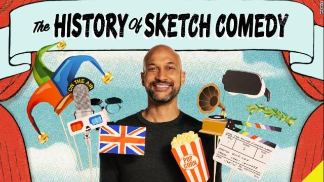 """Emmy and Peabody award-winning actor, writer and producer Keegan-Michael Key narrates """"The History of Sketch Comedy."""""""