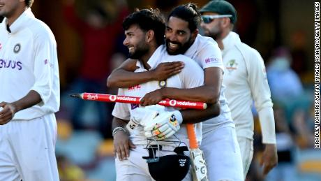 India achieves stunning Test victory over Australia with record-breaking run chase