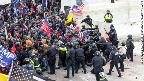 Evidence shows Capitol rioters brutally attacked police with flagpoles, fire extinguishers and fists