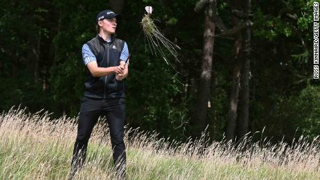 At the british masters an injury to his foot led to another period on the sidelines for r. Hojgaard.