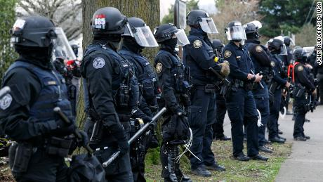 Here's why rioters say they're gathering in Portland