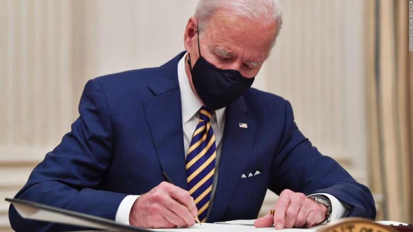 Biden plans a busy week of executive action