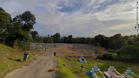 Taruma Cemetery in Manaus.