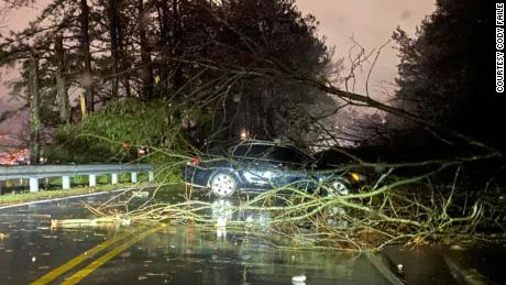 A tornado tore through the Birmingham area Monday night, leaving significant damage.