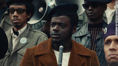 Daniel Kaluuya as Black Panther leader Fred Hampton & quot;  Judas and the Black Messiah;  & quot;