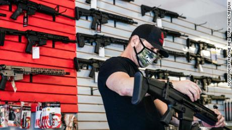 Gun sales in January set a new record after Capitol Hill insurrection