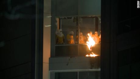 Inmates at St. Louis jail attack correctional officer, set his unit on fire