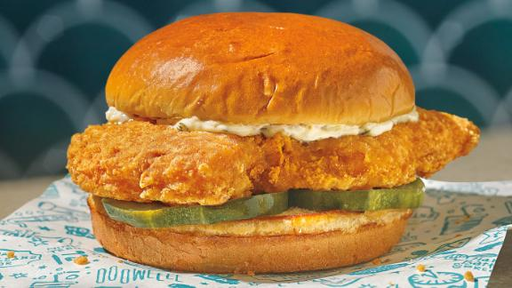 Popeyes is launching a fish sandwich on Thursday.