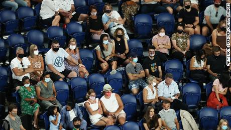 On Thursday, during the four days of the 2021 Australian Open in Melbourne Park, the crowd gathered to watch the second round of the women's singles match between Koko Gough of the United States and Alina Svitolina of Ukraine.