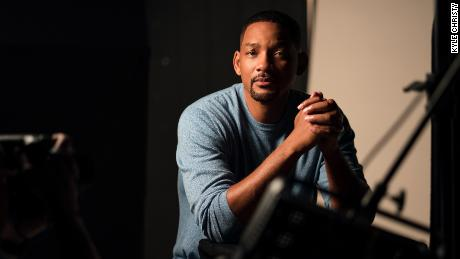 """Will Smith is shown on the set of """"Amend: The Fight for America."""""""