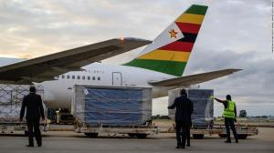 Zimbabwe receives 200,000 doses of Sinopharm Covid-19 vaccines