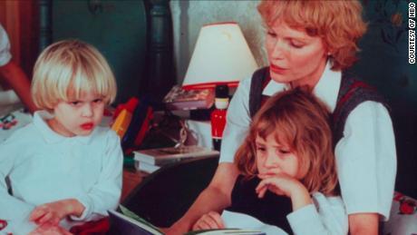 """Ronan Farrow, Dylan Farrow and mother Mia Farrow as seen in the new HBO docuseries """"Allen v. Farrow."""""""