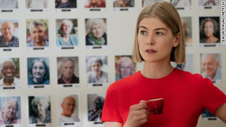 """Rosamund Pike stars as Marla Grayson in Netflix's """"I Care a Lot."""""""