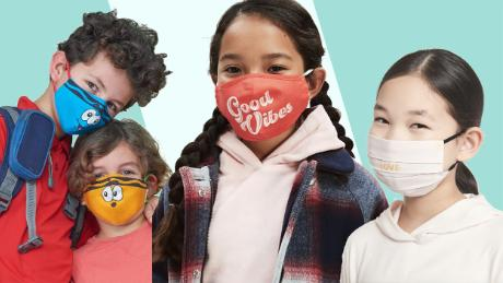 "From unicorns to ""Star Wars,"" 21 face masks for kids"