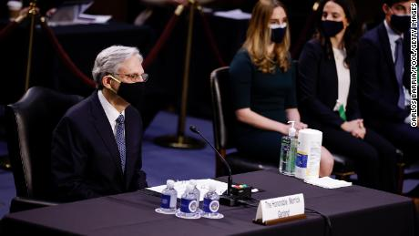 Garland vows at confirmation hearing to keep politics out of DOJ while receiving bipartisan praise